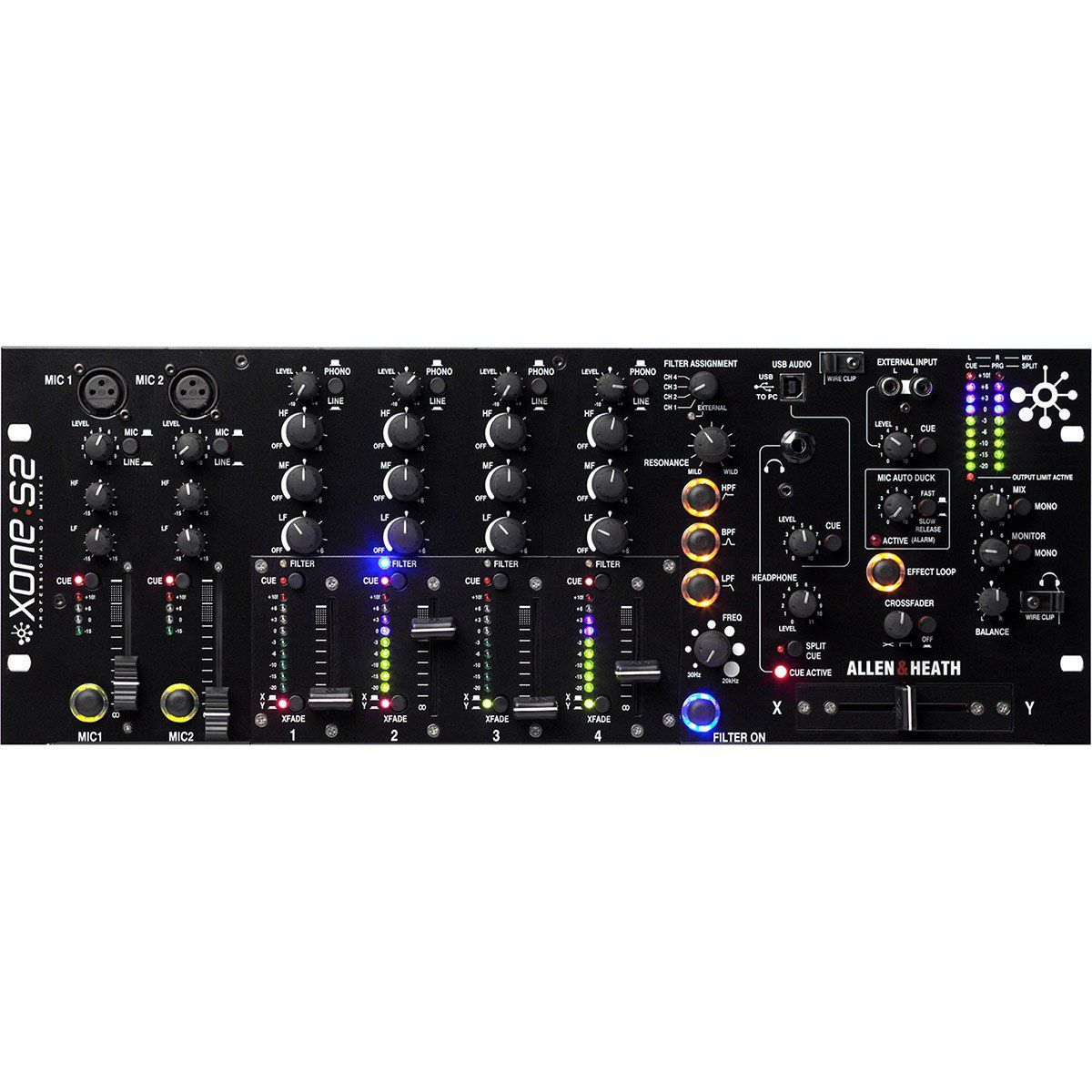 Allen Heath Xone S2 Mixer Allen Heath Xone-S2 de 4 Canais
