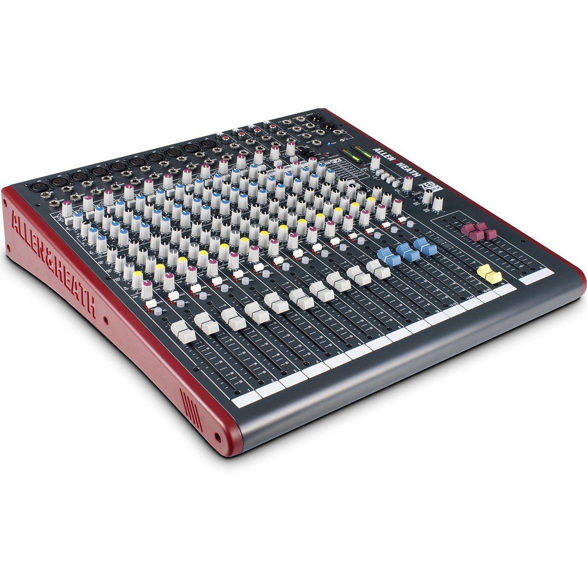 Allen Heath ZED 16Fx Mesa de Som ZED-16fx Analógica de 16 Canais para Gravação
