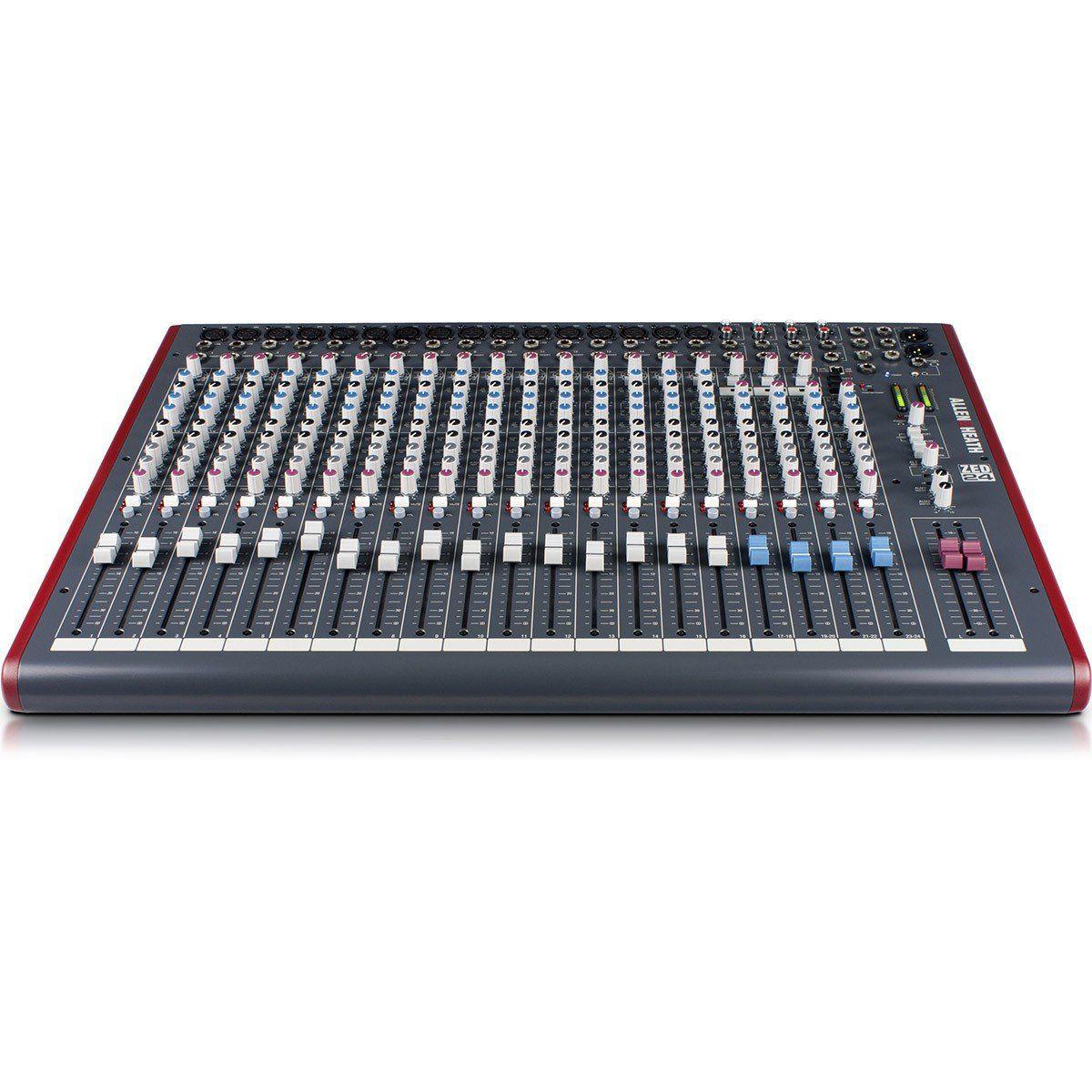 Allen Heath ZED 24 Mesa de Som ZED-24 Analógica de 24 Canais para Estúdio e Gravação
