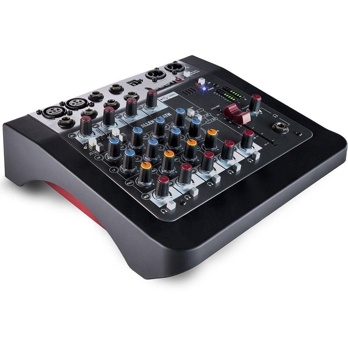 Allen Heath ZEDi 8 Mesa de Som ZEDi-8 8 Canais para Ipads e Gravação de Instrumentos