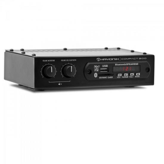 Amplificador de Som Hayonik Compact 200 20W