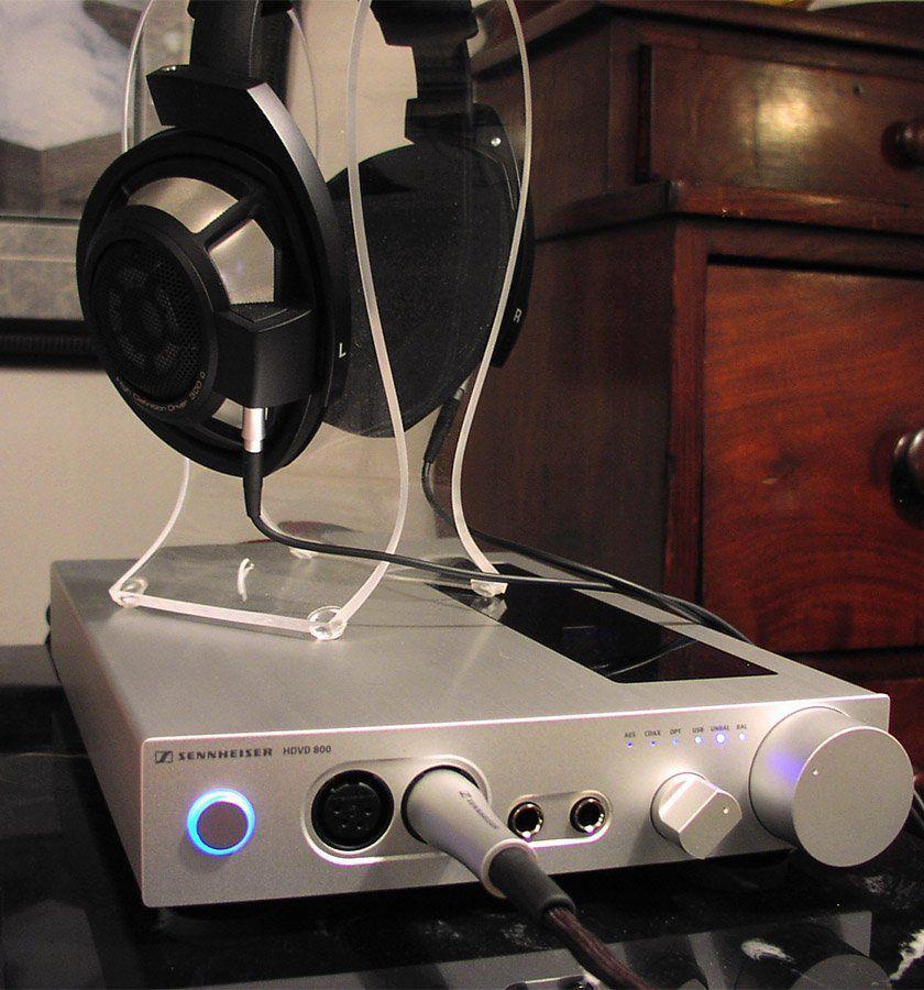 Sennheiser HDVD 800 Amplificador HDVD800 Digital-Analógico