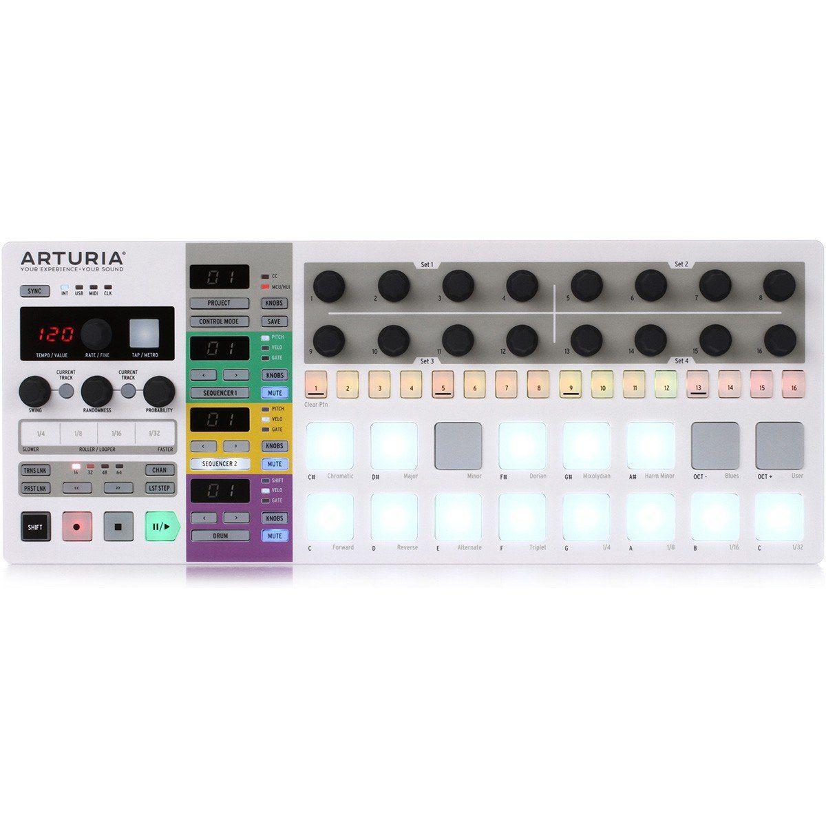 Arturia Beatstep Pro Controladora Midi para Estúdio e Performances ao Vivo