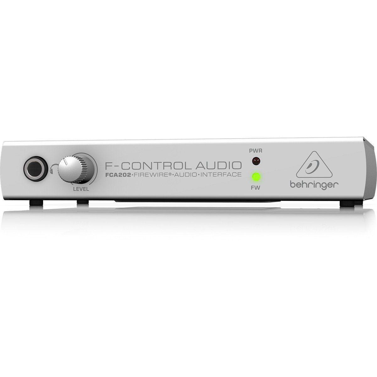 Behringer FCA202 F-Control Interface de Áudio FCA 202 2x2 Firewire