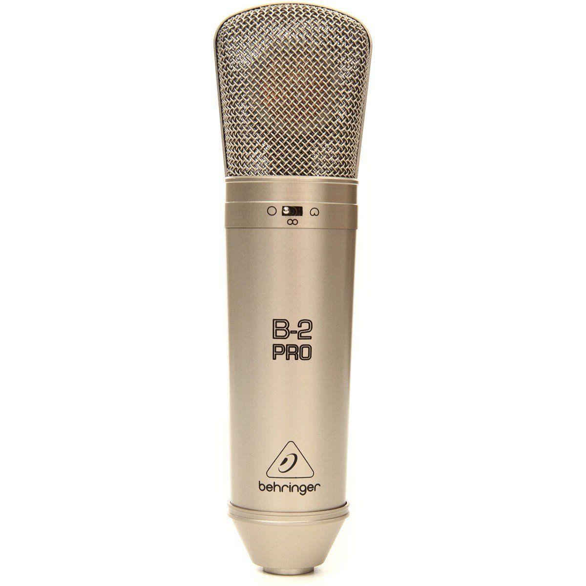Behringer B2 Pro Microfone Condensador Behringer B-2 Pro Membrana Dupla