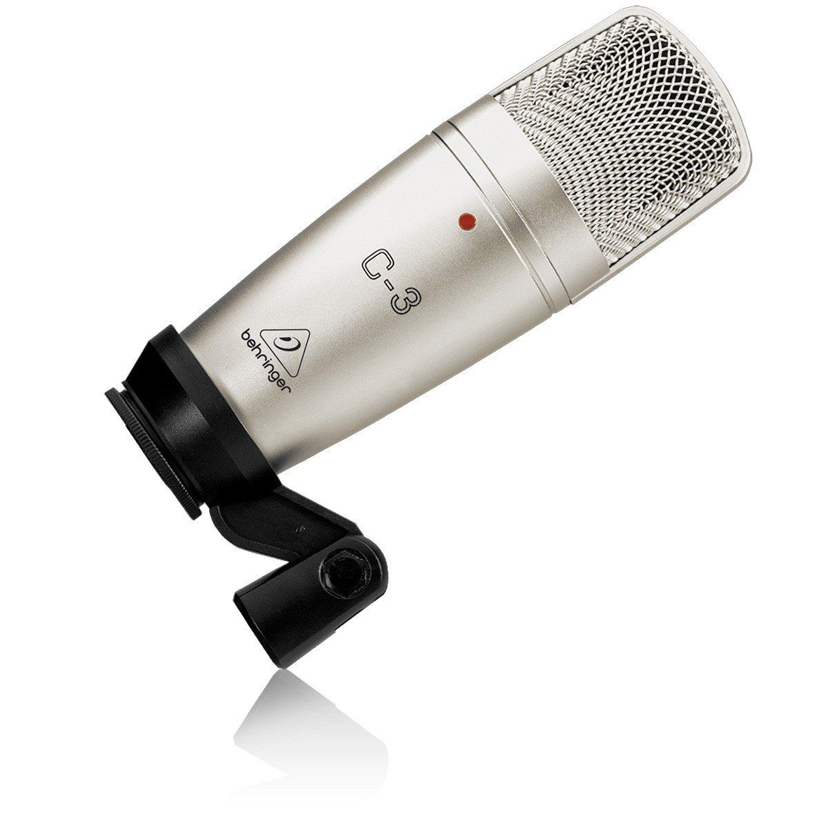 Behringer C3 Microfone Condensador Behringer C-3 Profissional para Gravações