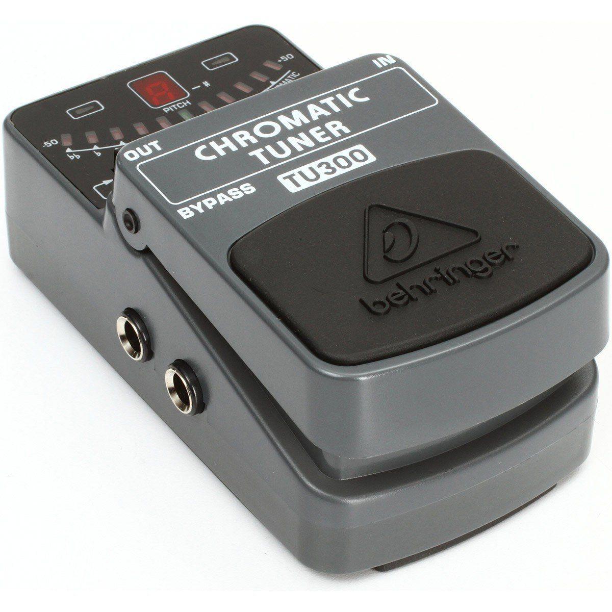 Behringer TU300 Chromatic Pedal para Guitarras Elétricas Afinador