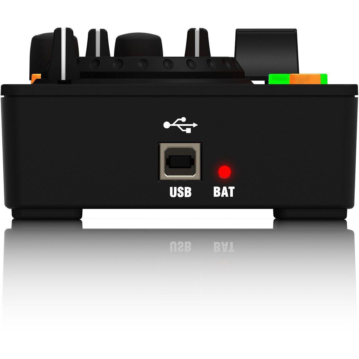 Behringer CMD Micro Controladora Dj MIDI Compacta 2 Decks Usb