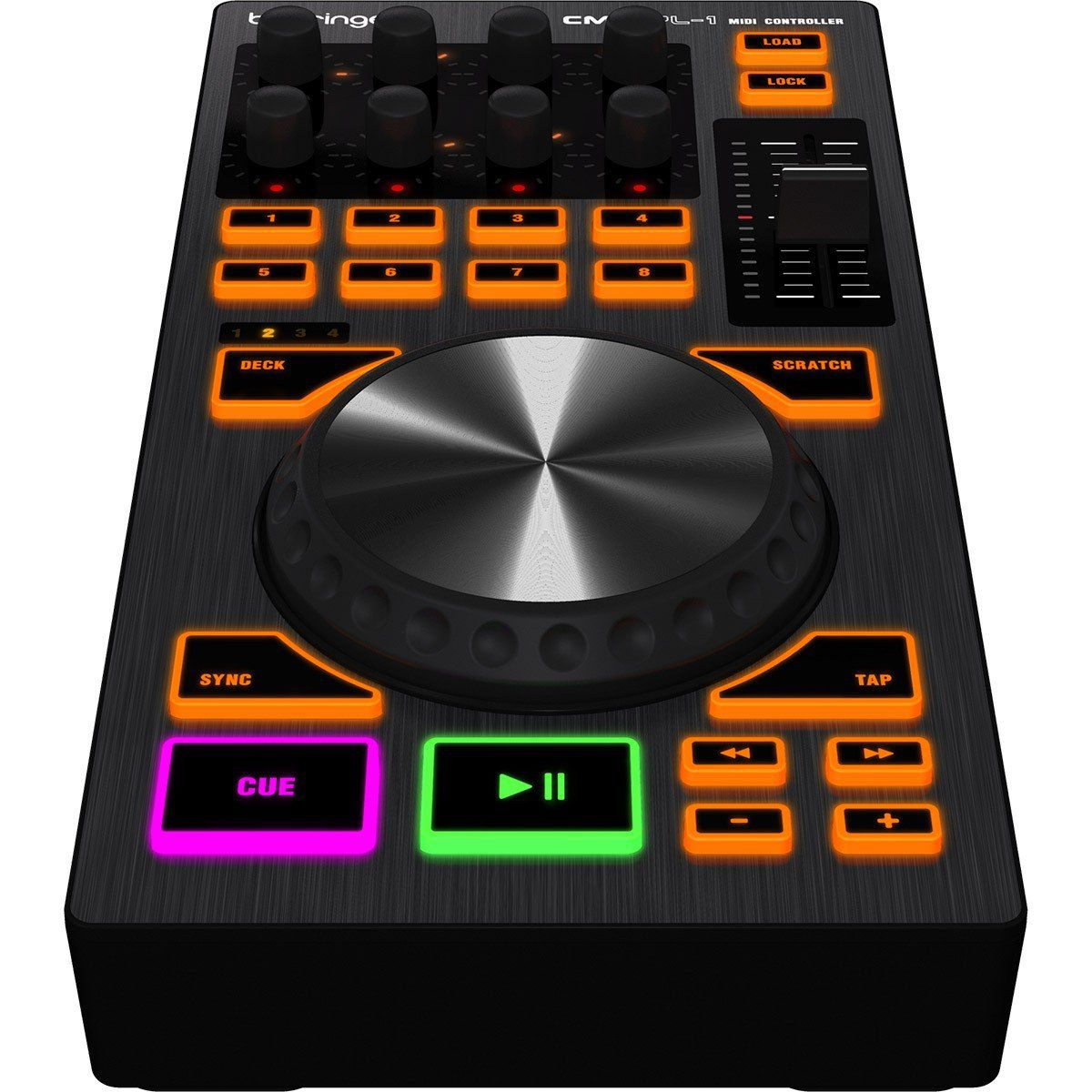 Behringer CMD PL-1 Controladora Dj CMD PL1 Módulo MIDI Platter Usb