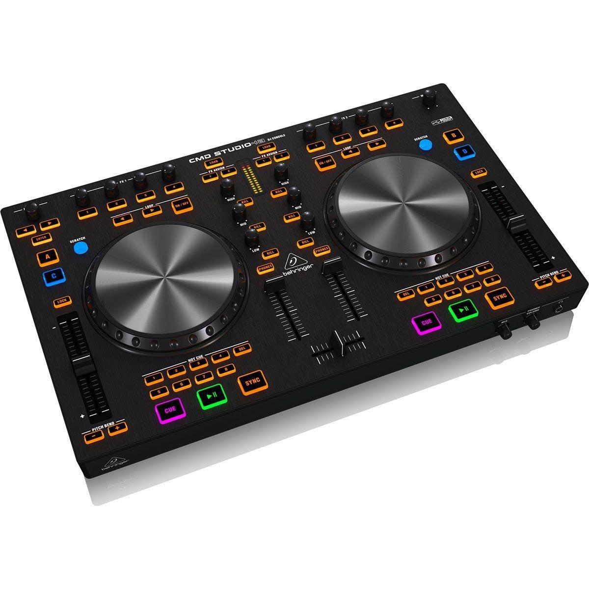 Behringer CMD Studio 4A Controladora Dj 4-Canais 4-Decks MIDI Usb