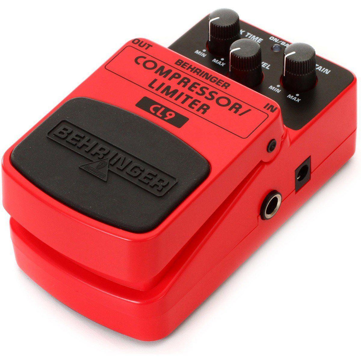 Behringer CL9 Compressor Limiter Pedal para Guitarra