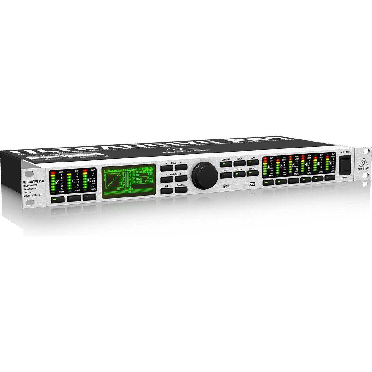Behringer DCX2496 Processador Behringer DCX2496 UltraDrive Pro