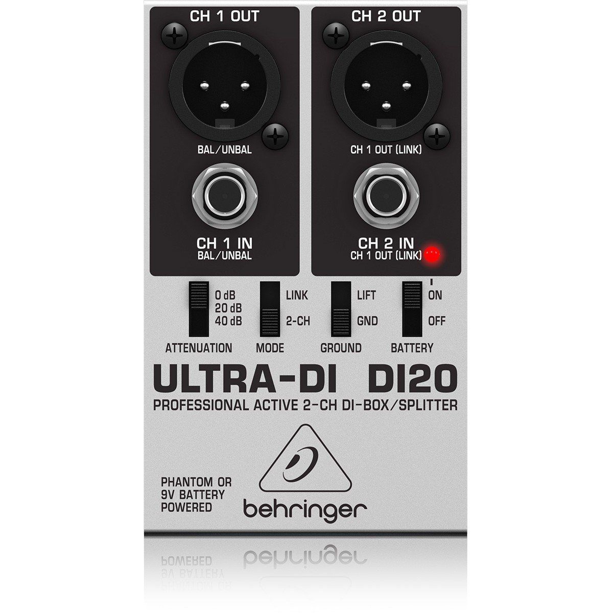Behringer DI20 UltraDI Direct Box Behringer DI20 Ultra-DI