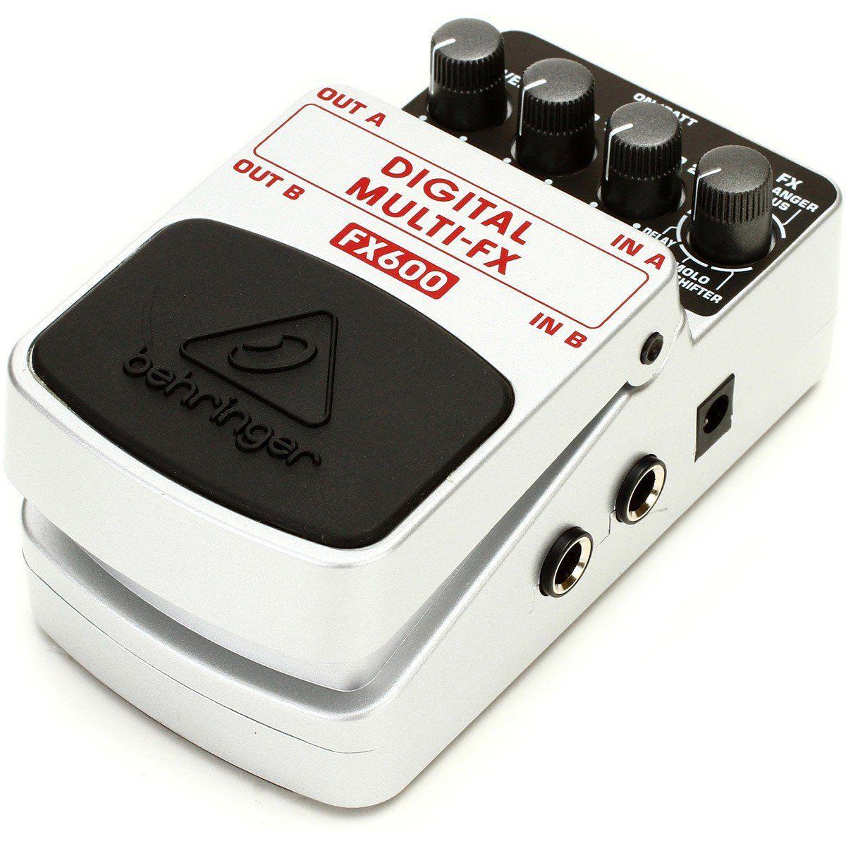 Behringer FX600 Digital Multi-Fx Pedal para Guitarra Multi Efeitos