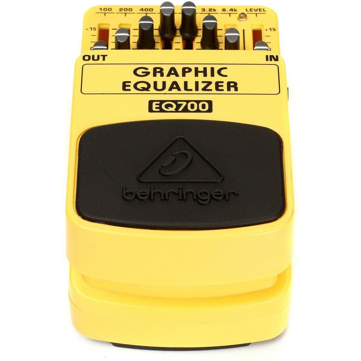 Behringer EQ700 Graphic Equalizer Pedal para Guitarra com Equalizador