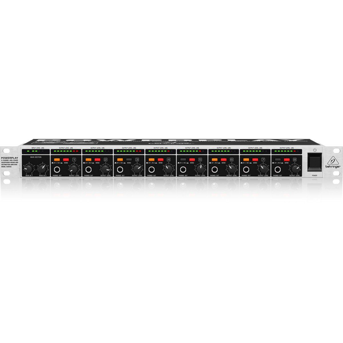 Behringer PowerPlay HA8000 Amplificador PowerPlay HA8000 110V