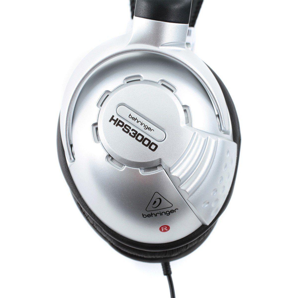 Behringer HPS3000 Fone de Ouvido HPS-3000 Semi-Aberto para Dj Profissional