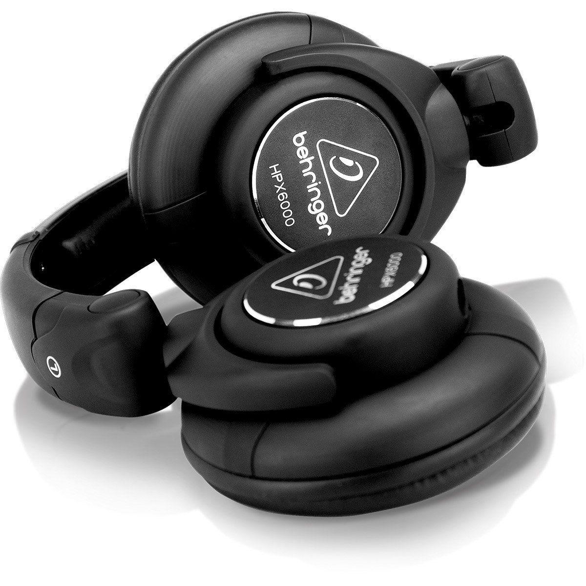 Behringer HPX6000 Fone de Ouvido HPX-6000 Fechado para DJ Profissional