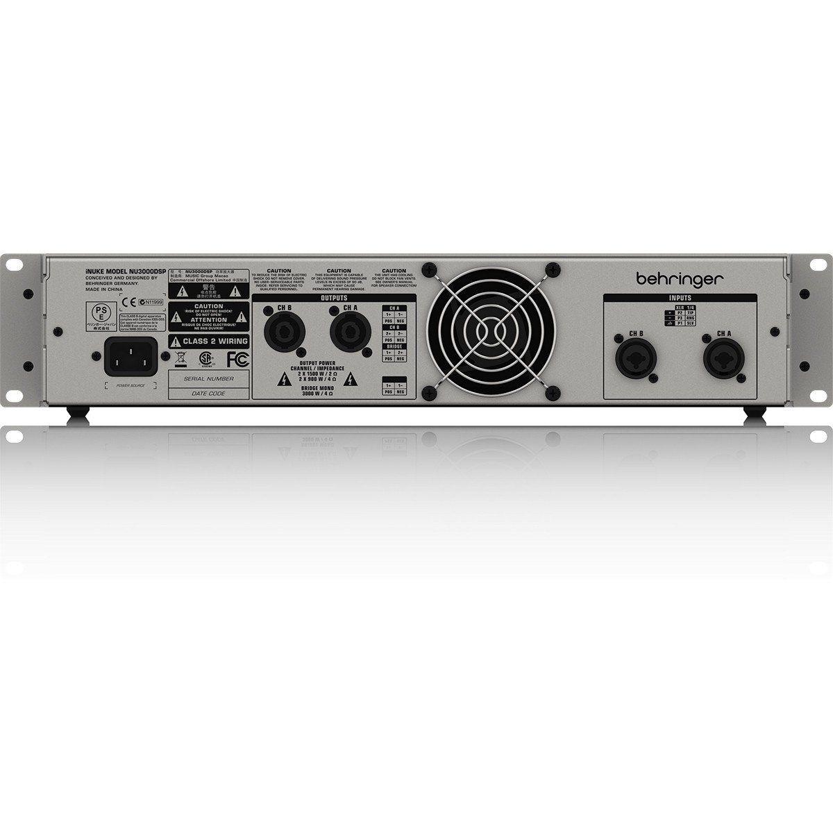 Behringer iNuke NU3000 Amplificador Behringer iNuke NU3000DSP