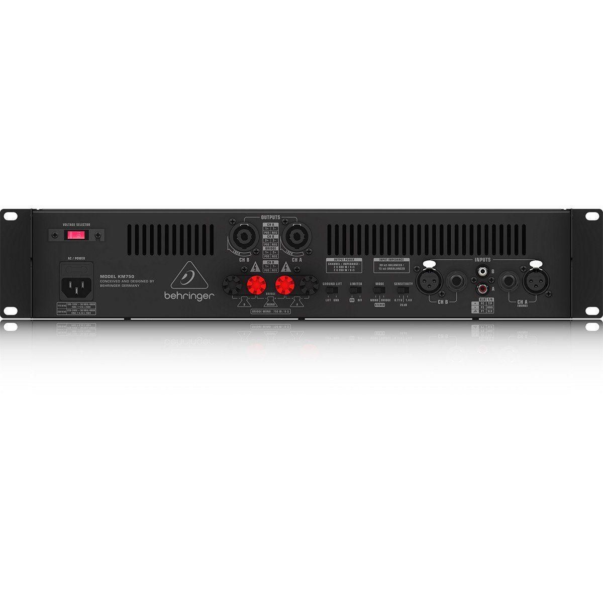 Behringer KM750 Amplificador Behringer KM750 750W