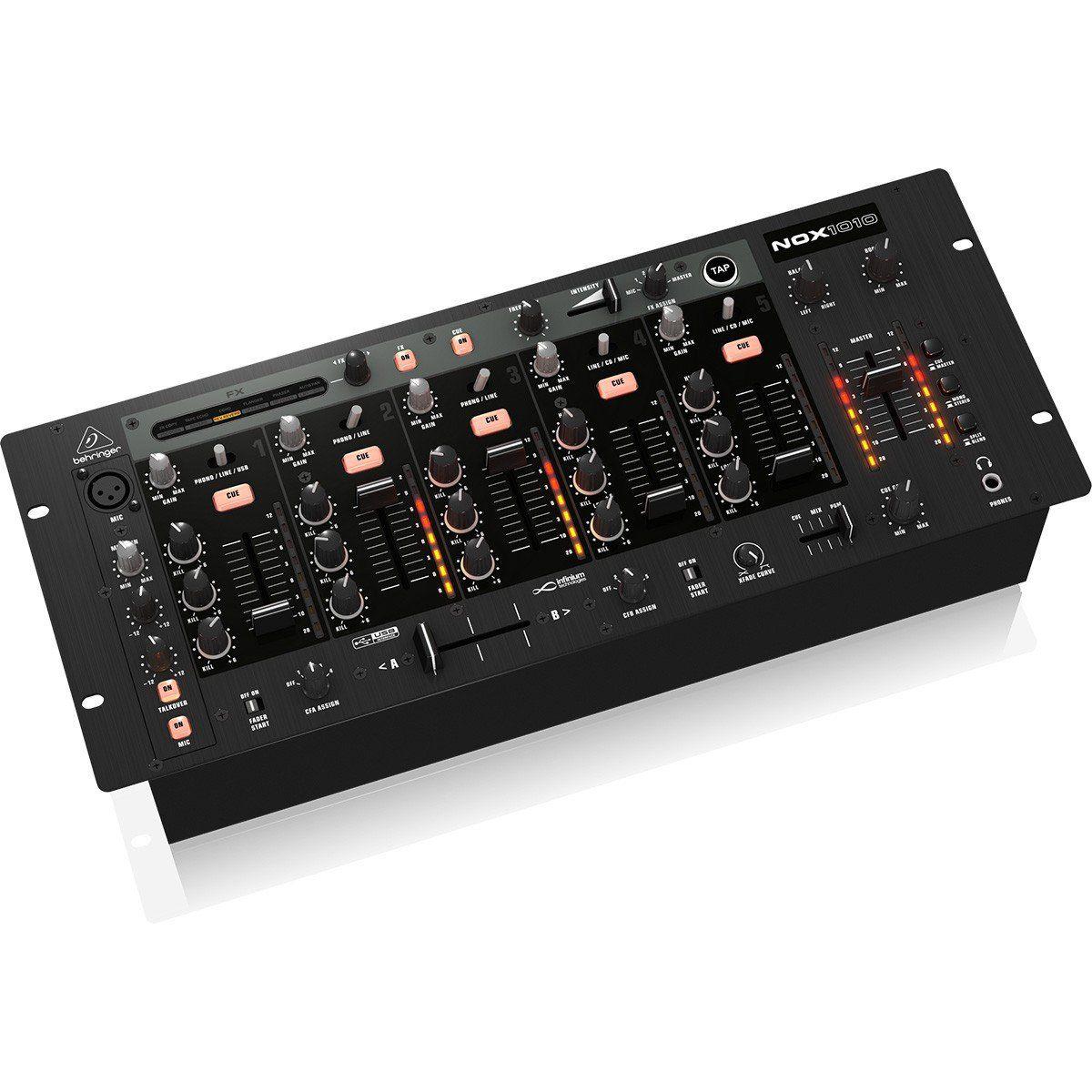 Behringer NOX1010 Mixer Behringer NOX1010 com 5 Canais
