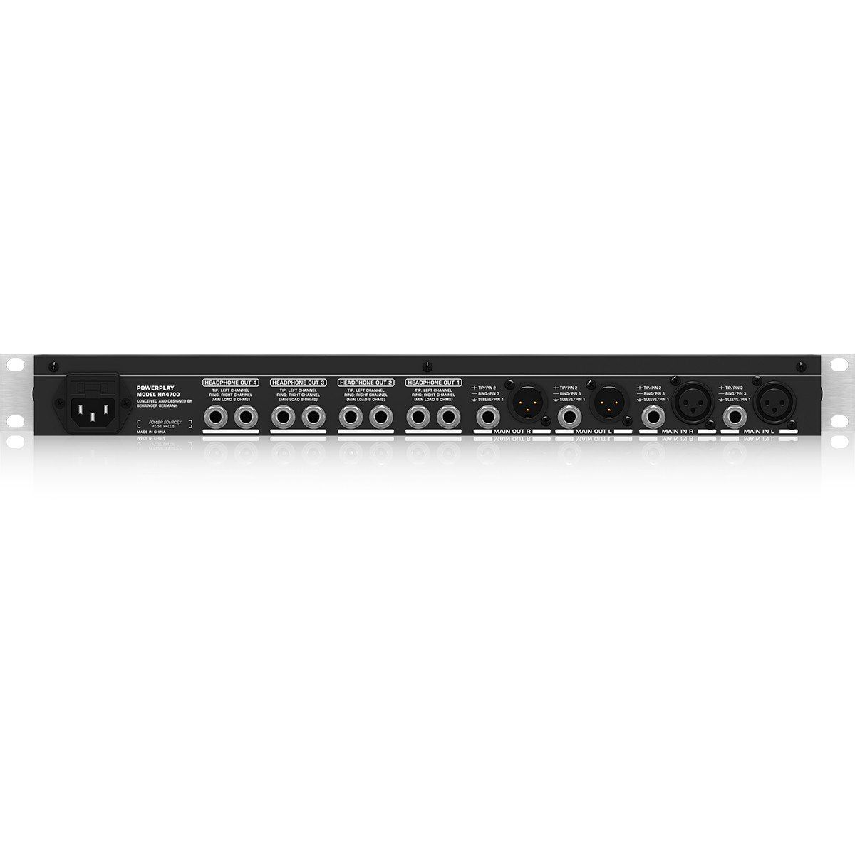 Behringer PowerPlay HA4700 Amplificador PowerPlay HA4700 110V