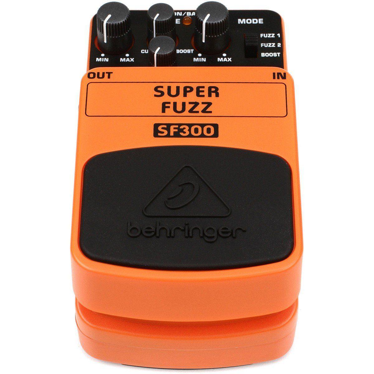 Behringer SF300 Super Fuzz Pedal para Guitarras