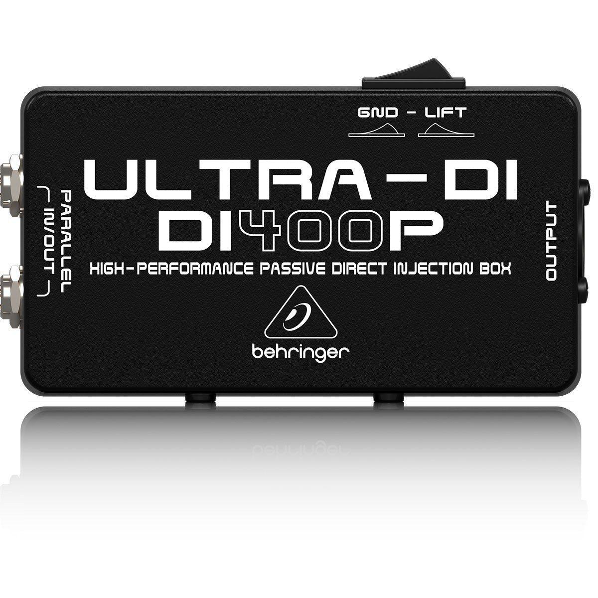 Behringer DI400P Ultra-DI Direct Box Behringer DI400P Ultra DI