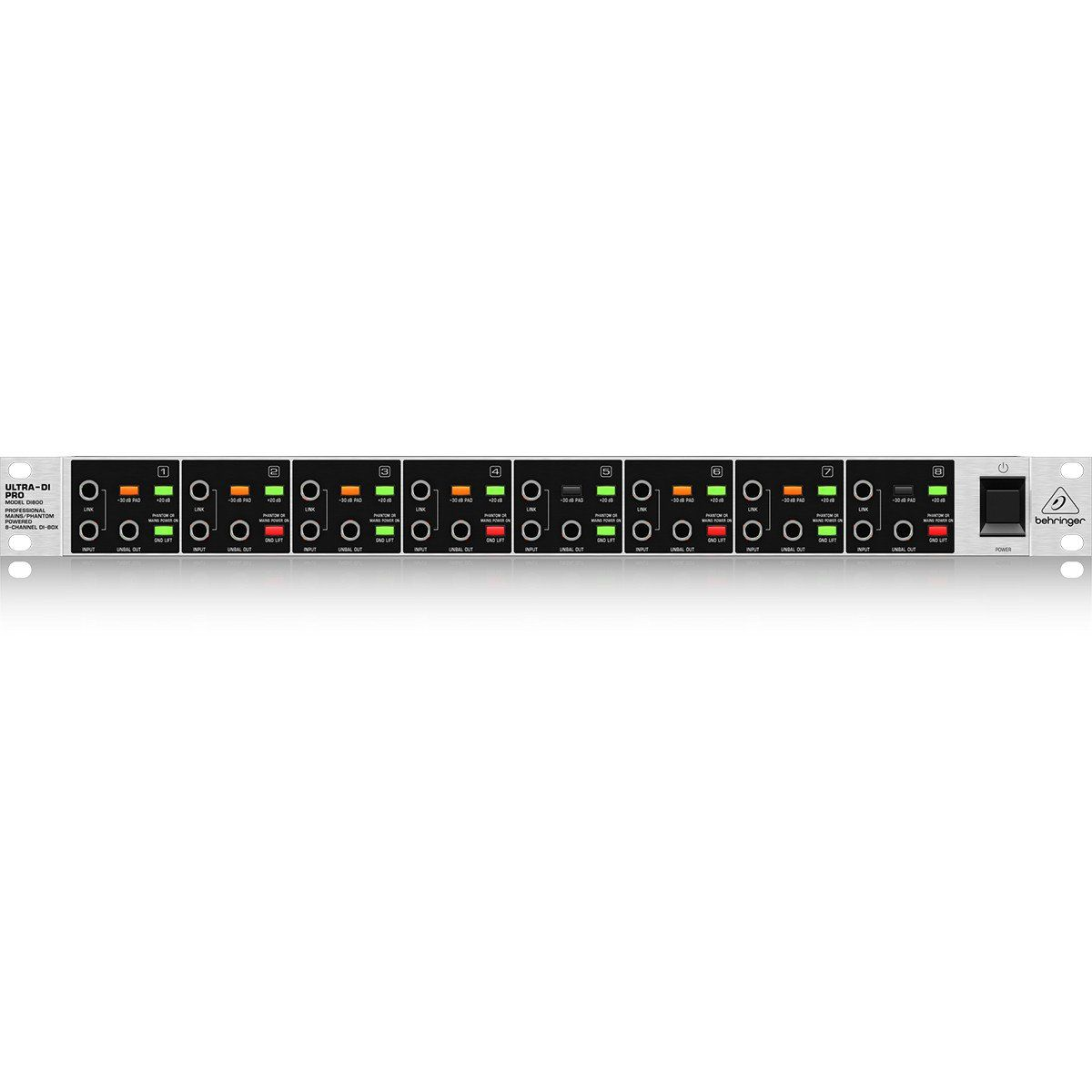 Behringer DI800 Ultra-DI Direct Box Behringer DI800 UltraDI Pro