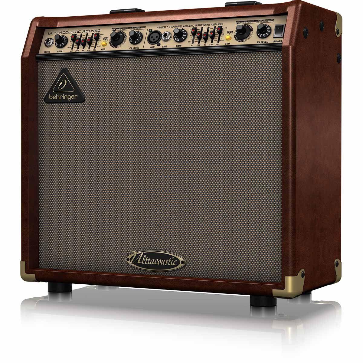 amplificador behringer ultracoustic acx450 review. Black Bedroom Furniture Sets. Home Design Ideas