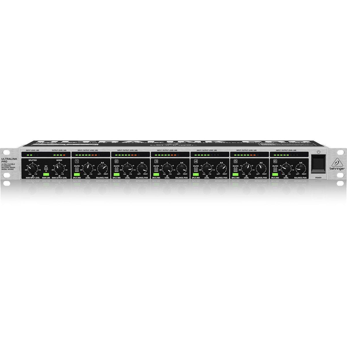 Behringer UltraLink Pro MX882 Amplificador UltraLink Pro MX882 110V