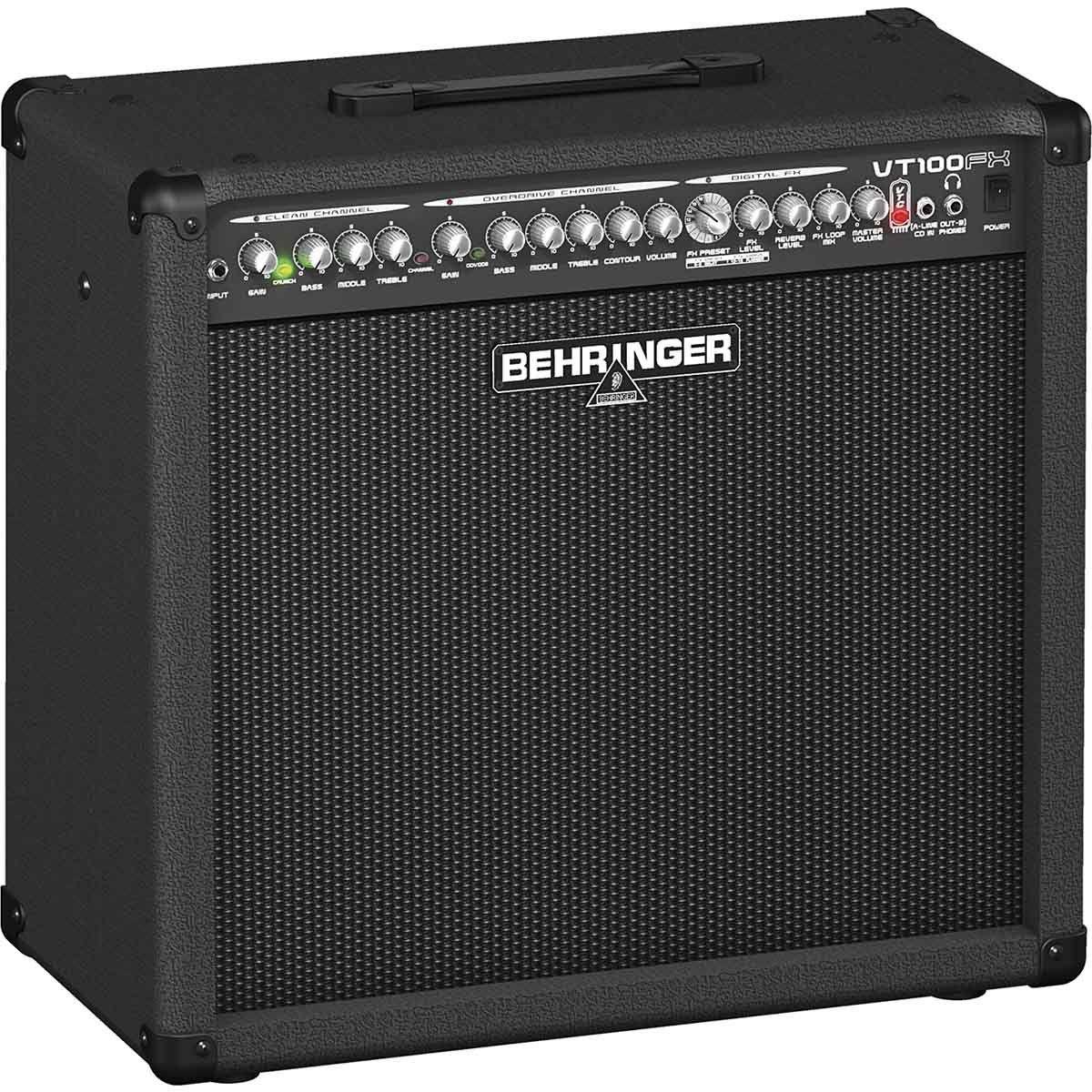 Behringer Virtube VT100Fx Amplificador para Guitarra Performances ao Vivo Home Studio