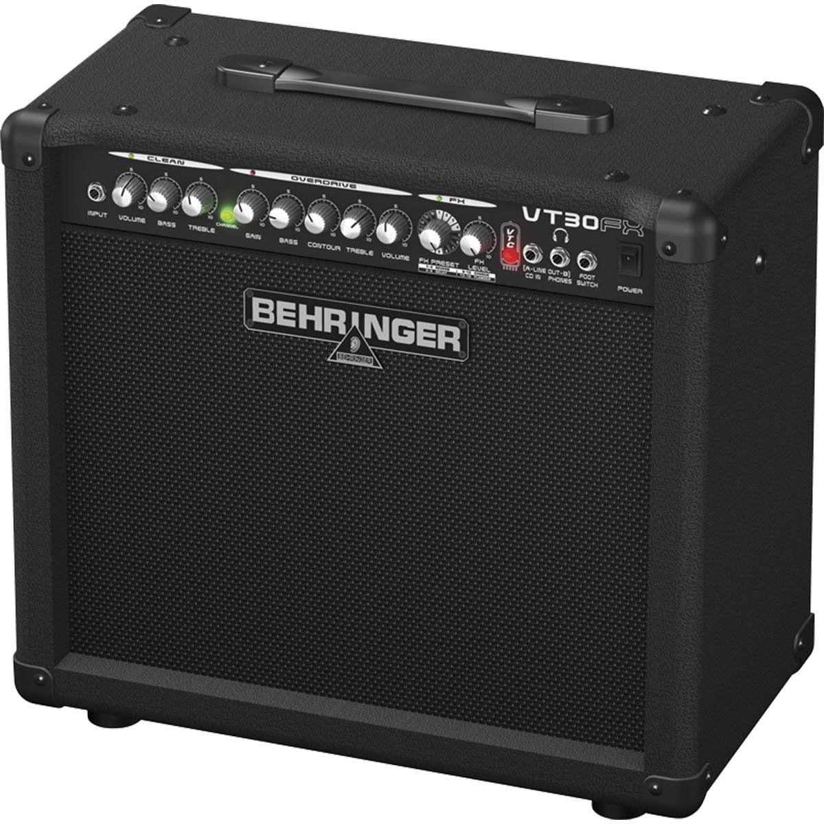 Behringer Virtube VT30Fx Amplificador para Guitarra Iniciante e Home Studio