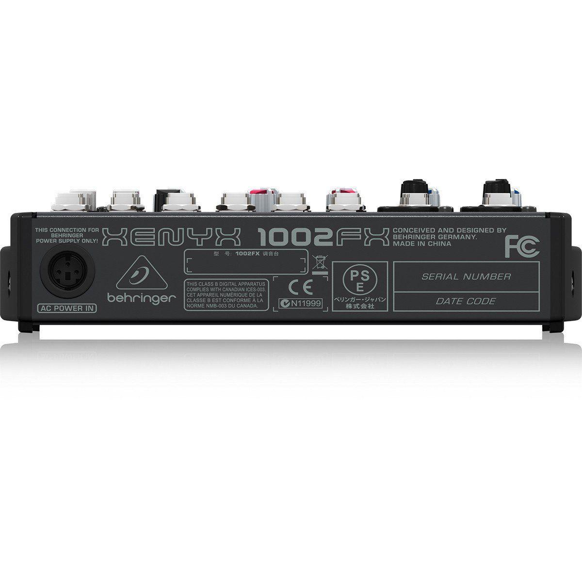 Behringer Xenyx 1002Fx Mesa de Som 1002-Fx para Gravação Iniciante e Performances