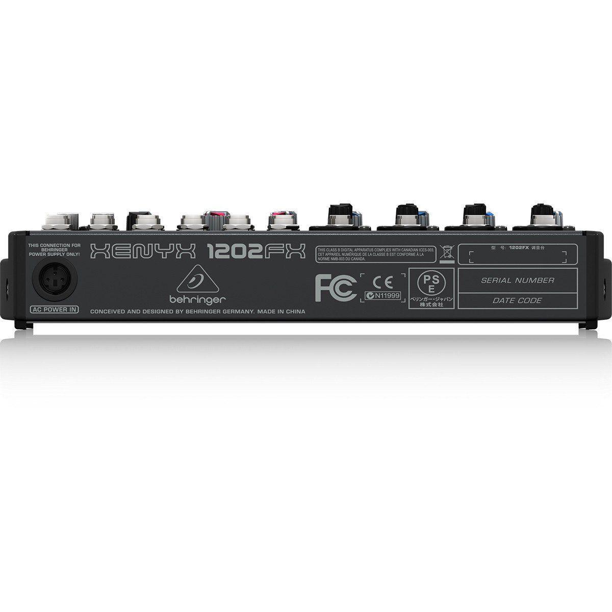Behringer Xenyx 1202Fx Mesa de Som 1202-Fx 12 Canais para Gravação Iniciante