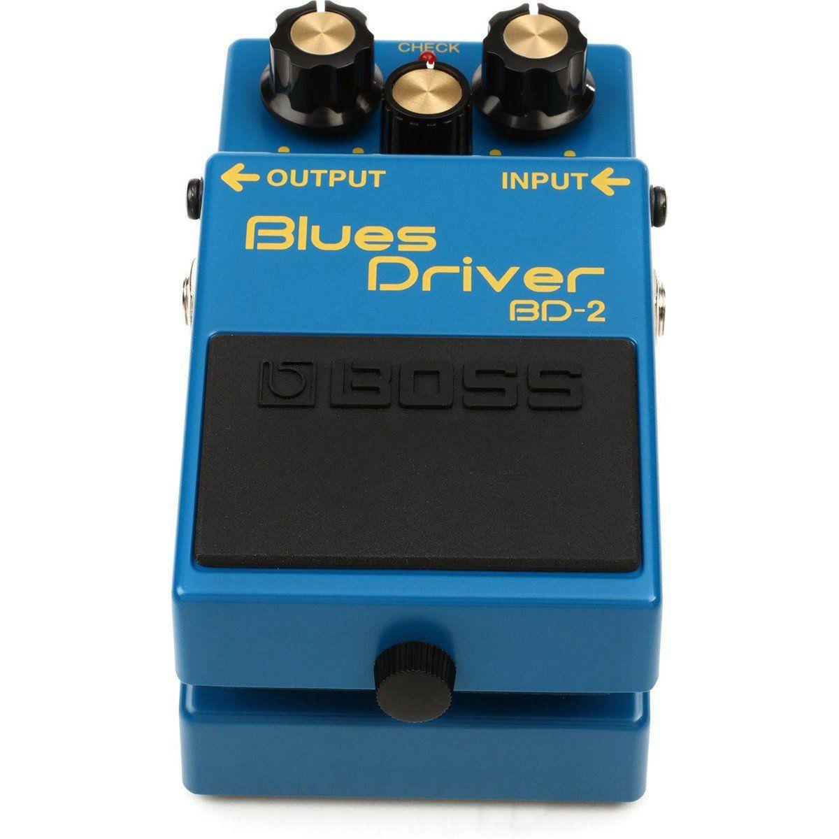Boss Blues Driver BD-2 Pedal para Guitarra Home Studio e Treino