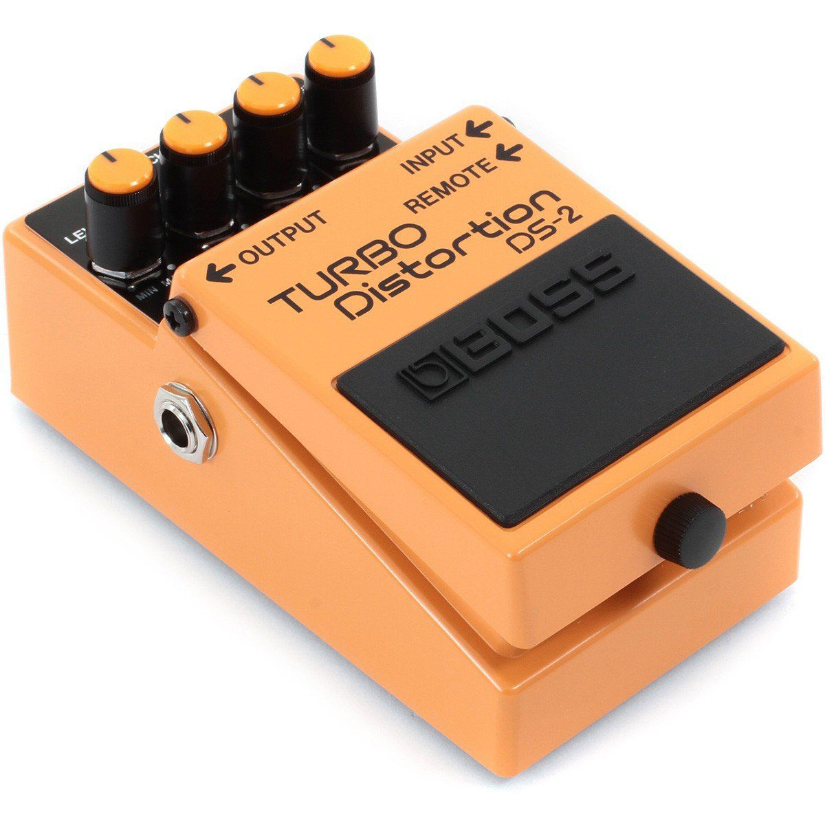 Boss Turbo Distortion DS-2 Pedal para Guitarra Shows e Performances