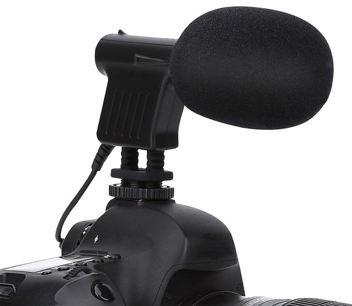 Boya BY-VM01 Microfone Condensador Directional para câmeras