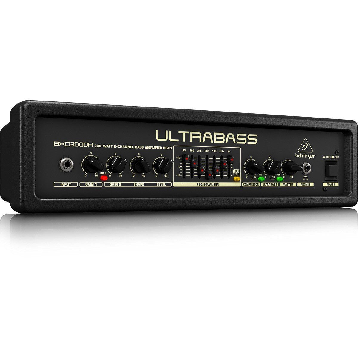 Behringer UltraBass BXD3000H Cabeçote para Contrabaixo Profissional