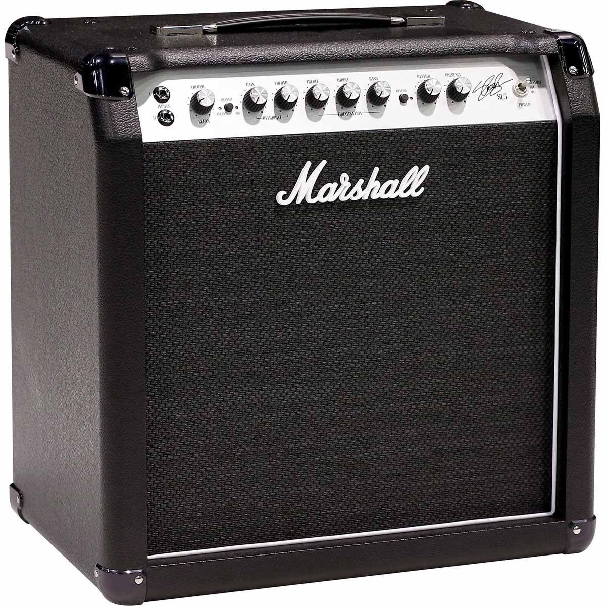 Marshall SL5 Amplificador Combo para Guitarra 5w Assinada pelo Slash