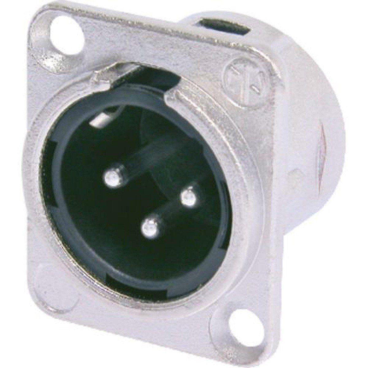 Neutrik NC3MDL1 Conector Xlr Macho NC3MDL1 3 Pinos