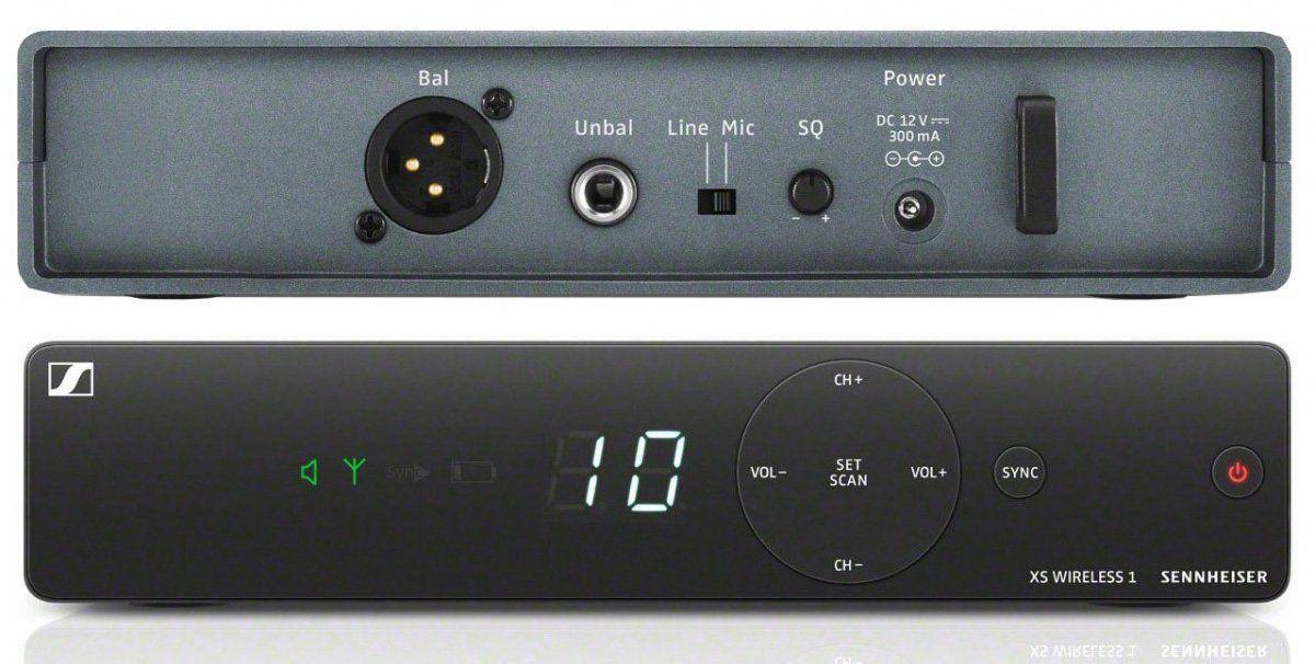 Sennheiser XSW 1-835 Microfone sem fio Sennheiser XSW 1-835 para palco