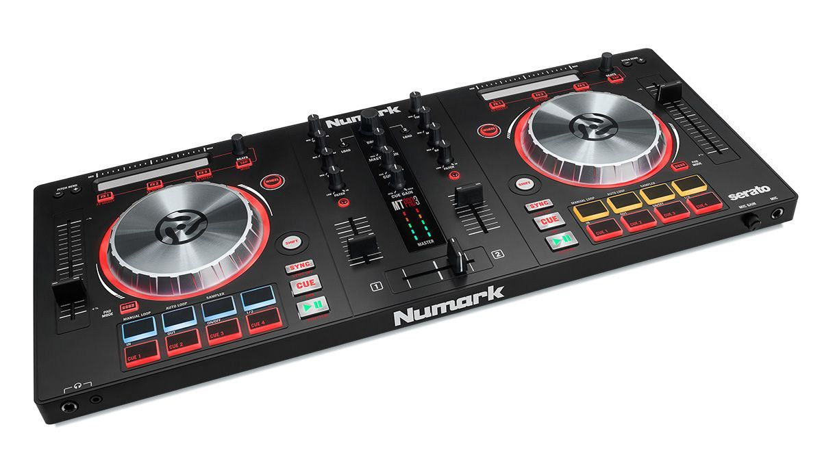 Numark MixTrack Pro 3 Controladora Dj  2-Decks 2-Canais Usb Serato Dj Intro
