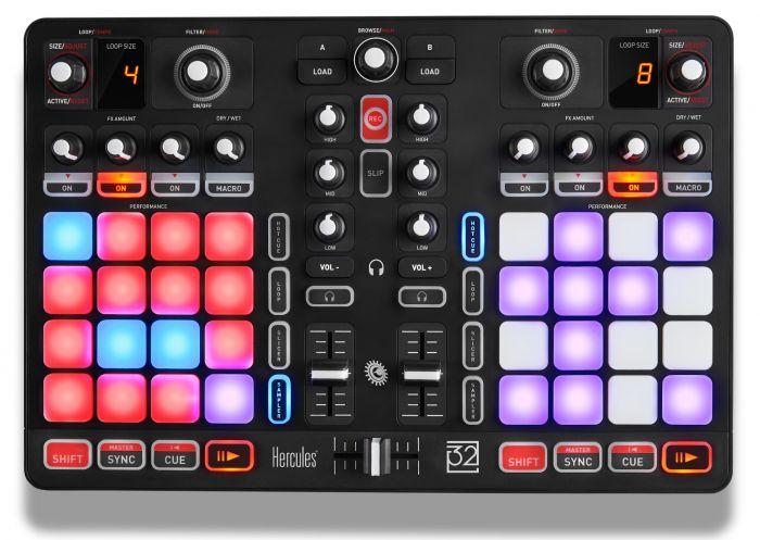 Controladora Hercules DJ P32 2 Decks