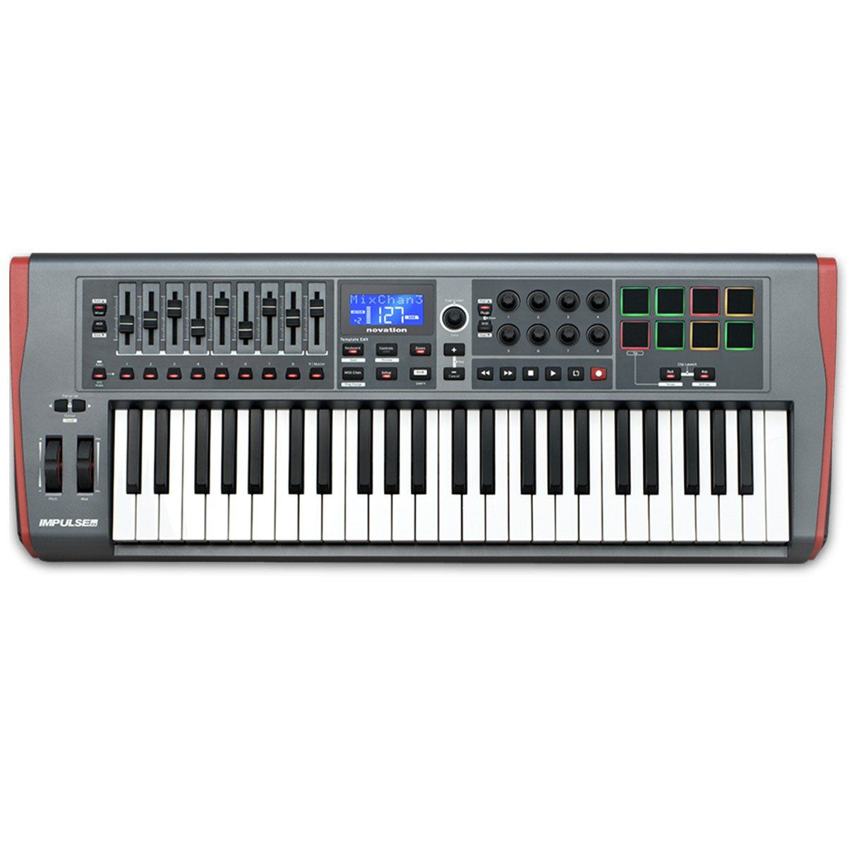 Novation Impulse 49 Controladora Midi para Produção Musical Ableton Live