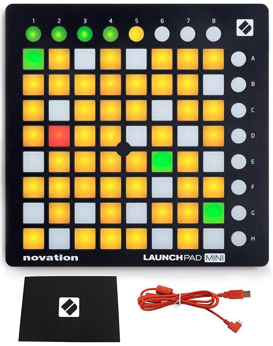Novation Launchpad Mini MK2 Controladora Dj 64-Pads Leds Coloridos Ableton Live