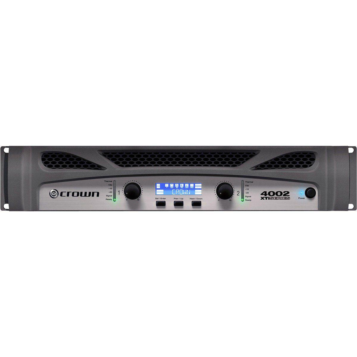 Crown XTI4002 Amplificador Crown XTI4002 1600W