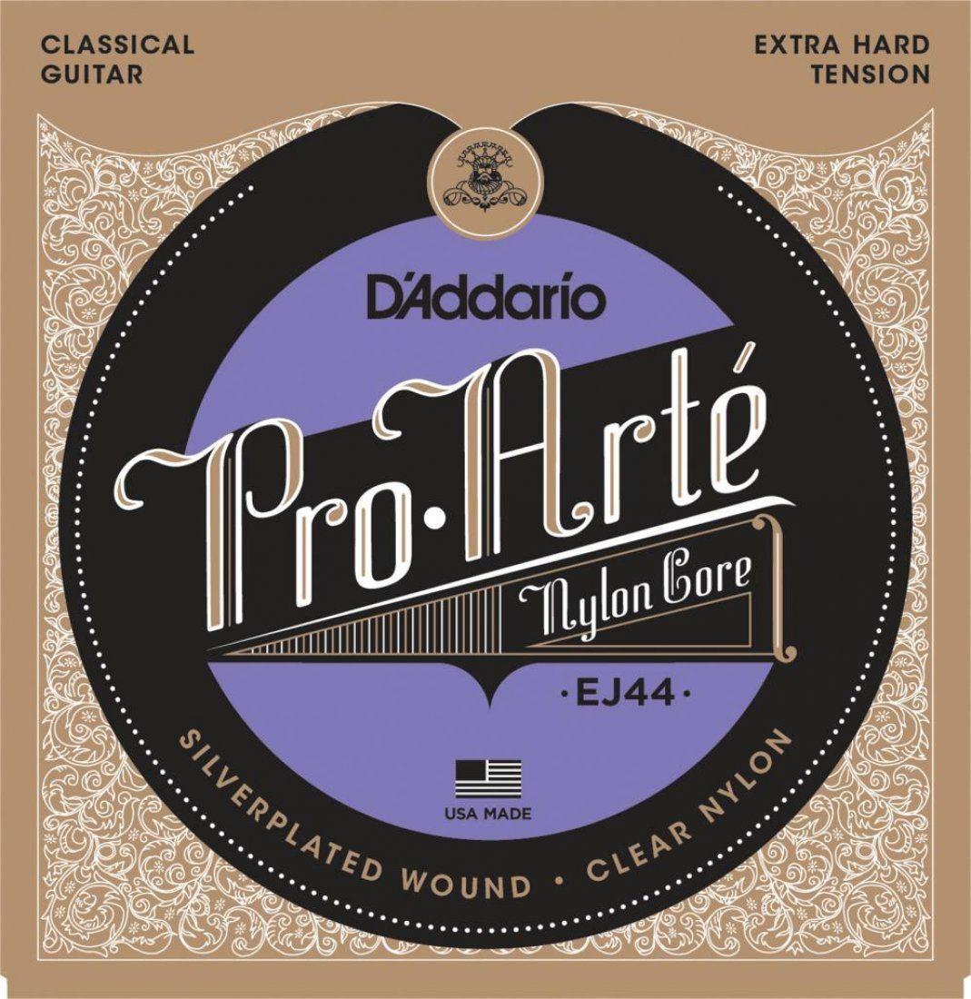 D'Addario EJ44 Encordoamento Pro-Arte X-Hard de Nylon para Violão