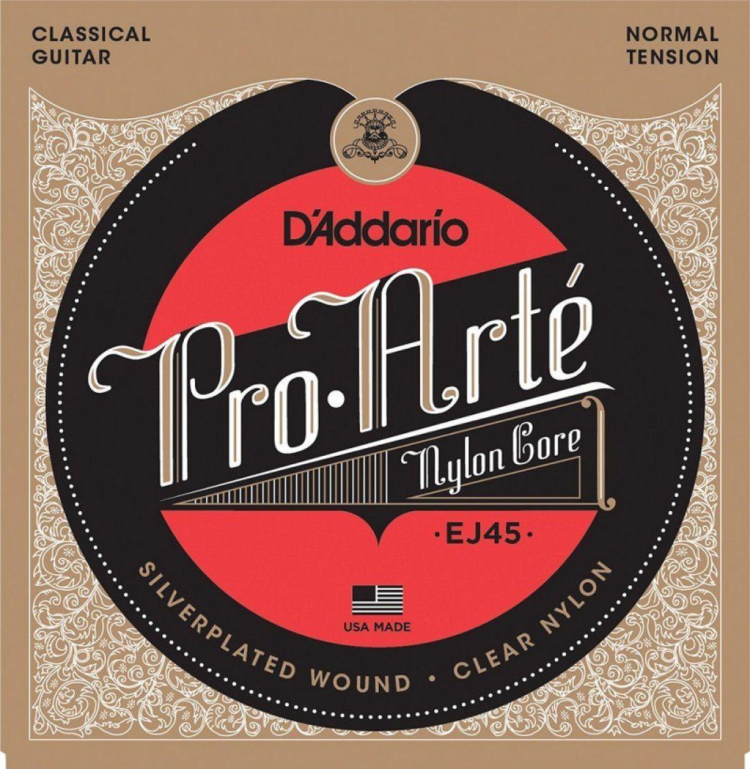 D'Addario EJ45 Encordoamento Pro-Arte para Violão