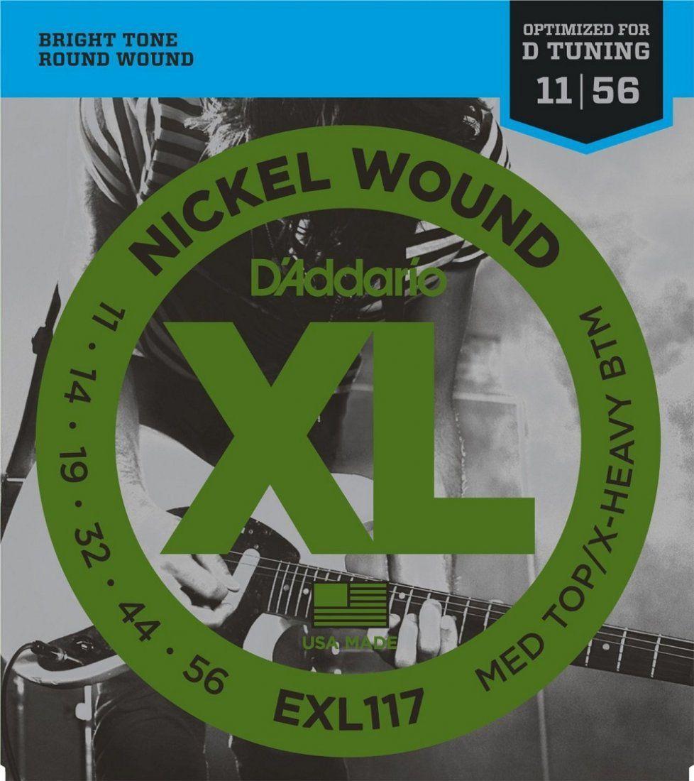 D'Addario EXL117 Encordoamento para Guitarra Elétrica